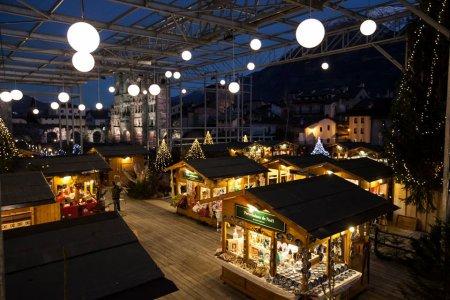 Рождественская ярмарка в Аосте