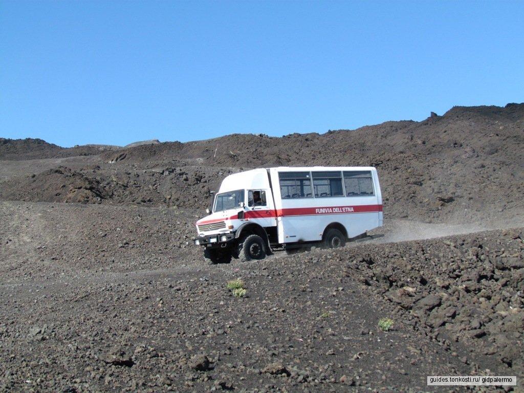 Этна — к жерлу дышащего вулкана!