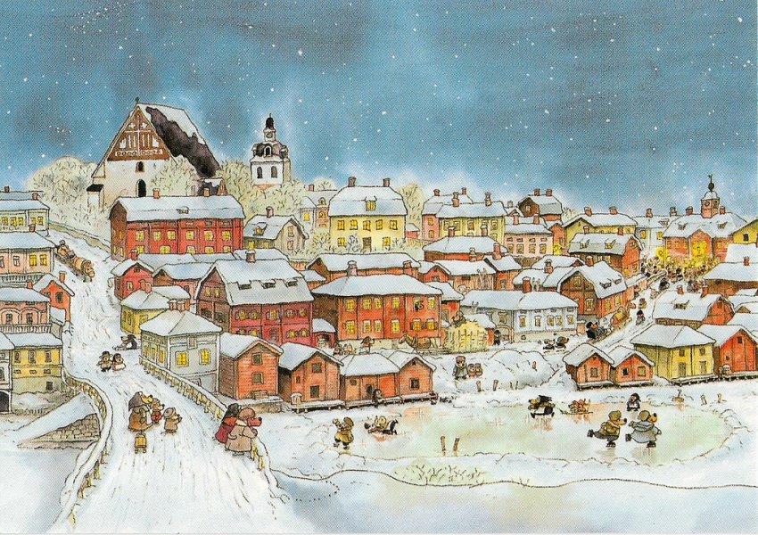 В Порвоо — шведский городок, известный по комедии Л. Гайдая «За спичками»