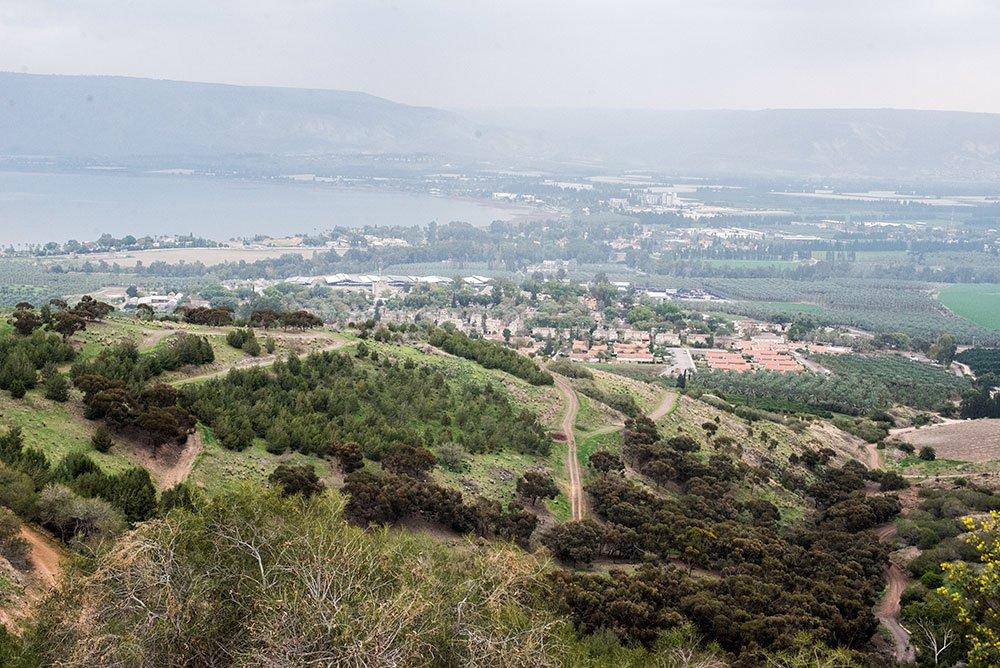 Ожившая Библия: Галилея, Назарет, река Иордан