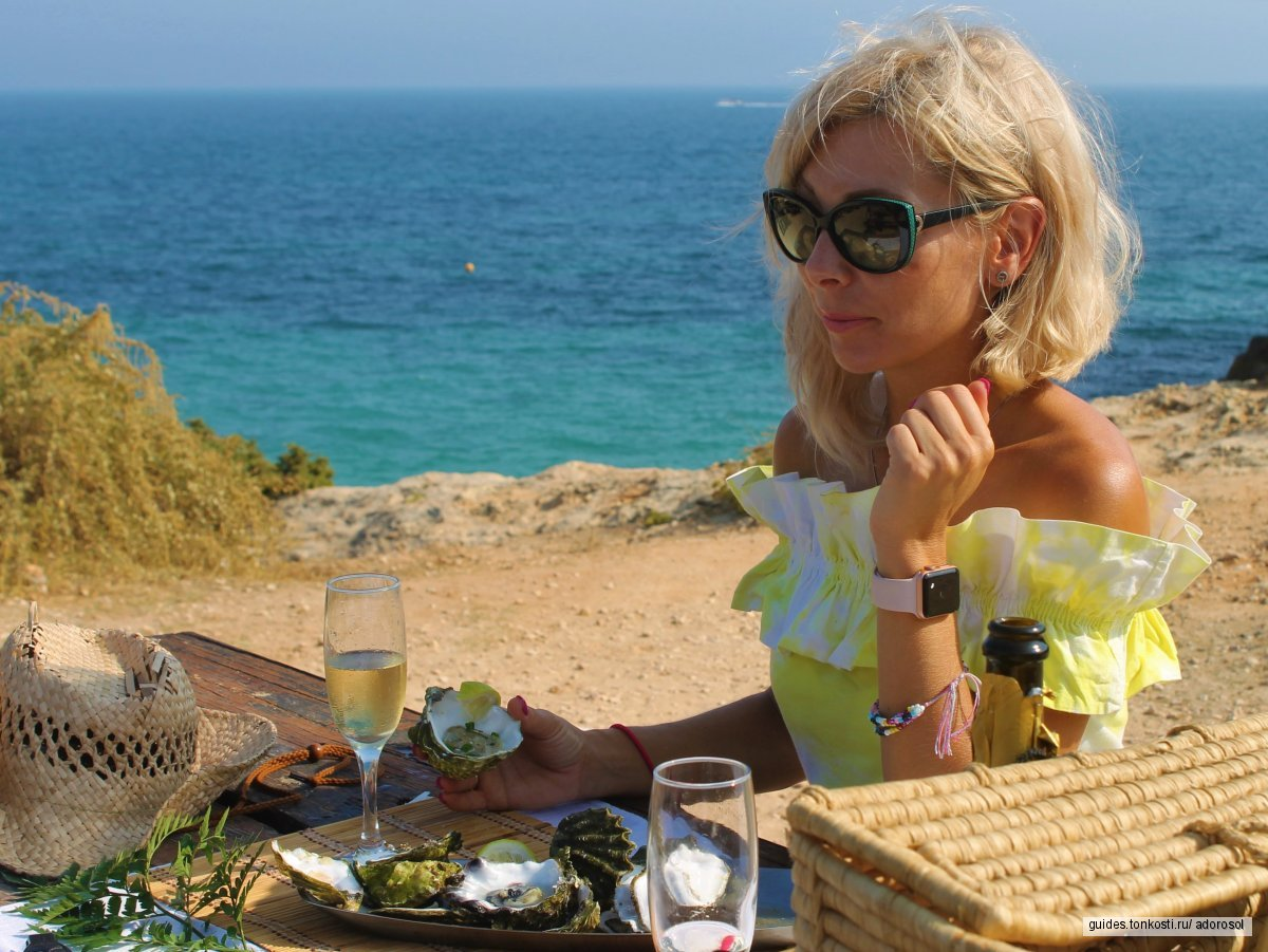 Золотое побережье Алгарве со вкусом устриц!