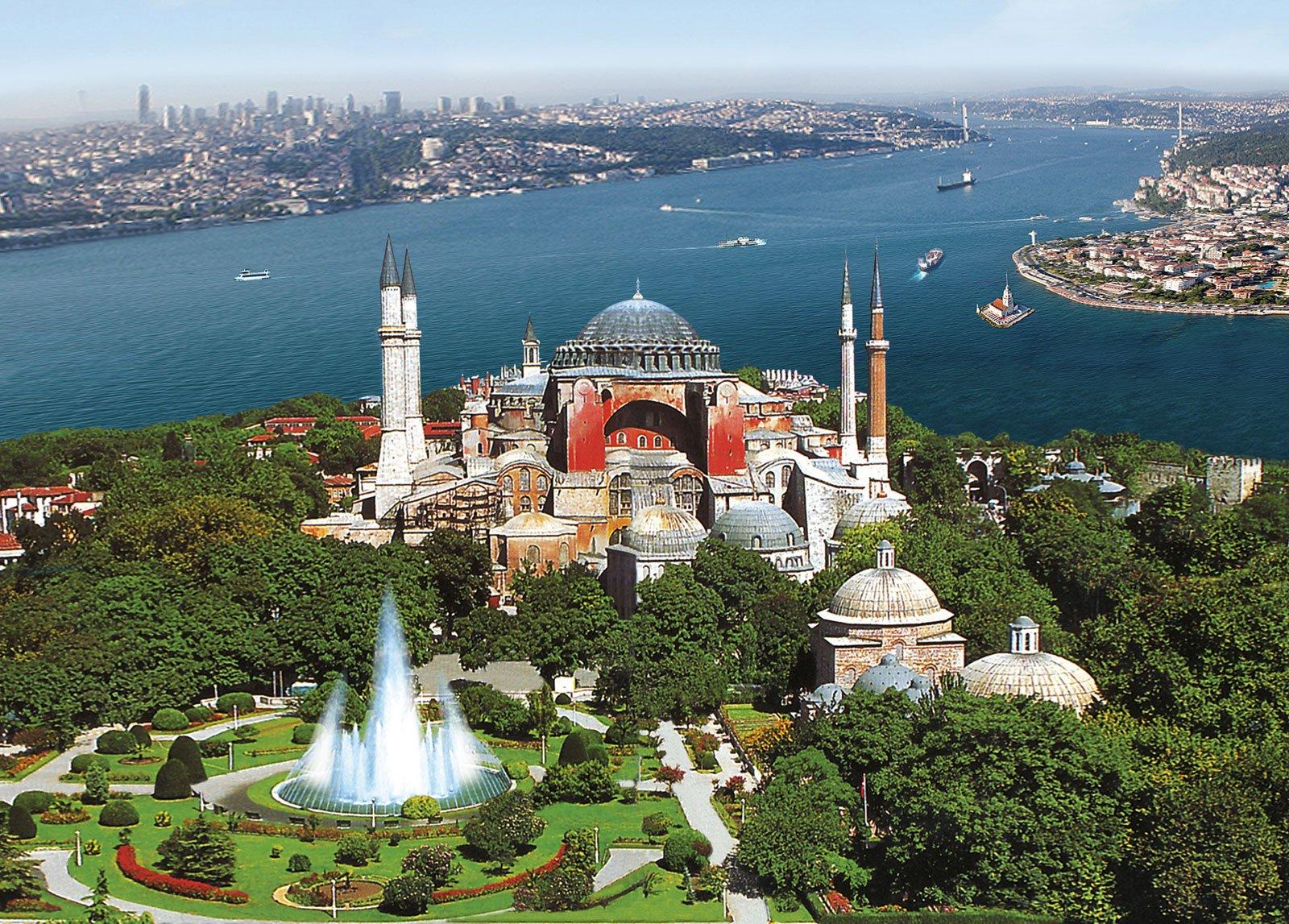 Стамбул из Мармариса и Ичмелер