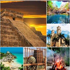 6 в 1! Тайны городов майя — номер 1 среди экскурсий в Мексике!
