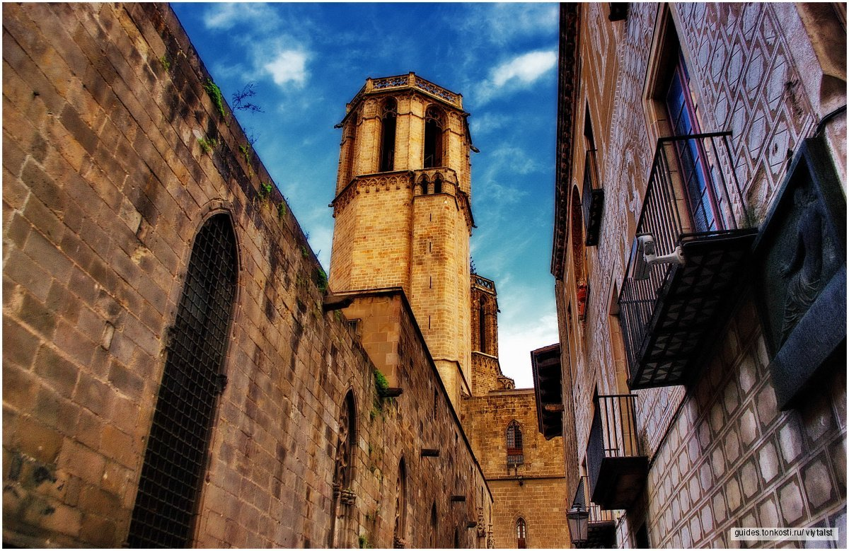Пешеходная экскурсия по Барселоне (Готический квартал)