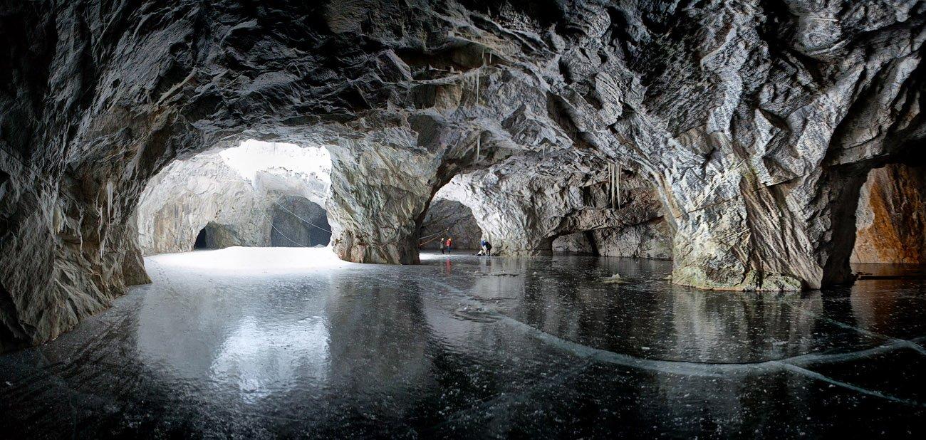 Горный парк Рускеала, Рускеальские водопады. Лепота по-карельски