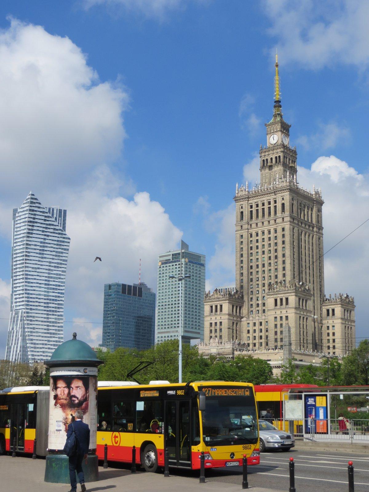 Индивидуальная авто-экскурсия «Варшава за один день»