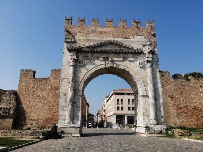 Римини, старый город.