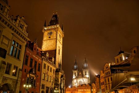 Прага - жемчужина Европы (пешеходная обзорная экскурсия по городу)
