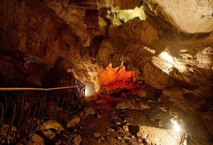 Воронцовская пещера и чайные плантации