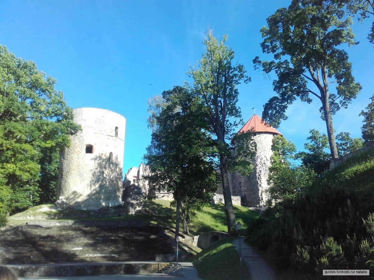 Средневековые замки Видземе (Сигулда, Турайда, Цесис)