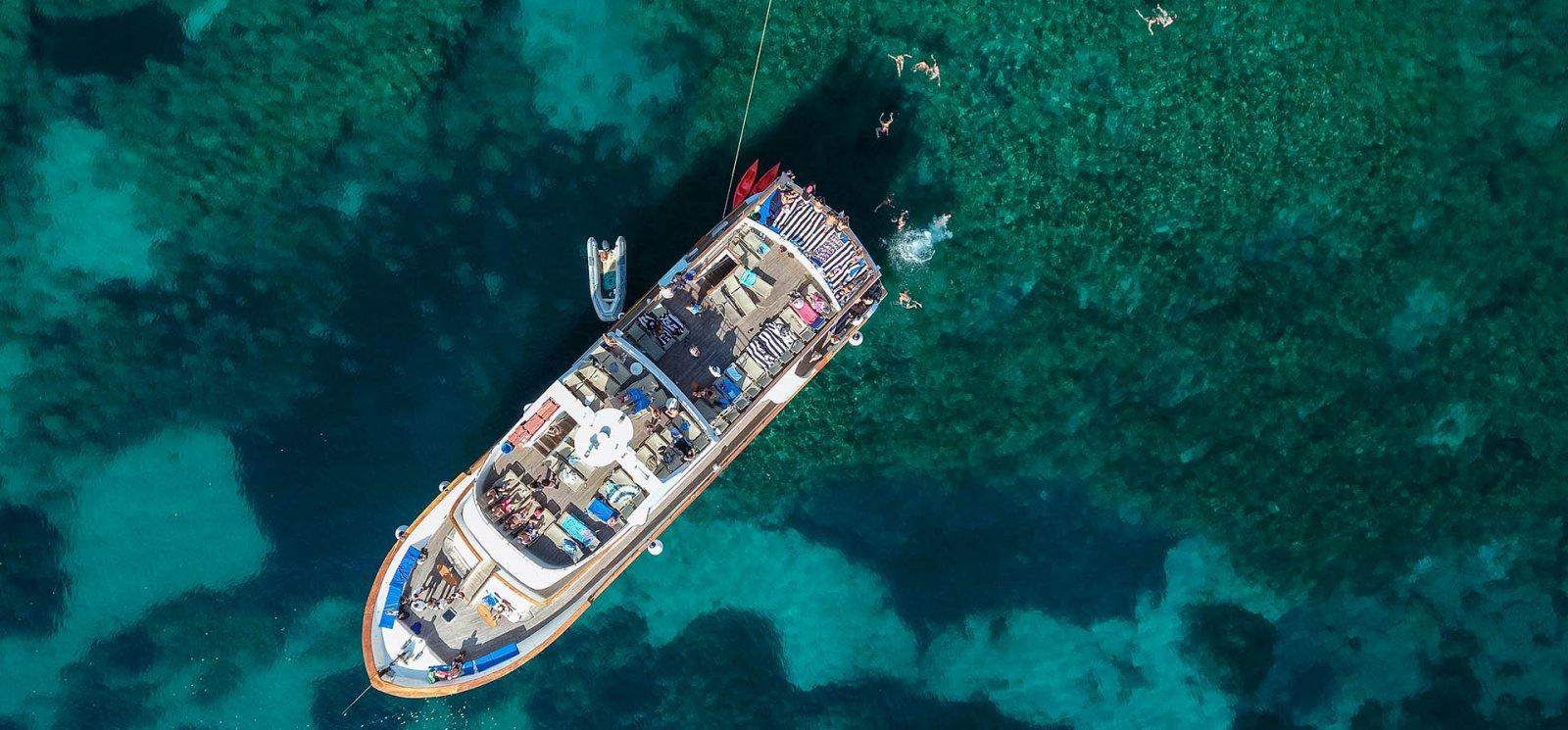 Морской круиз «Голубая лагуна»