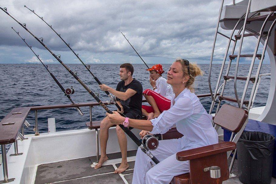 Океанская рыбалка