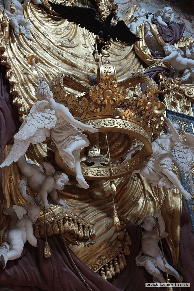 Дворец Шарлоттенбург, экскурсия по Старому дворцу и парку