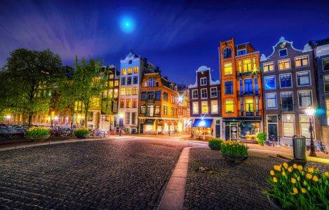 Обзорная экскурсия по Амстердаму с часовым круизом по каналам