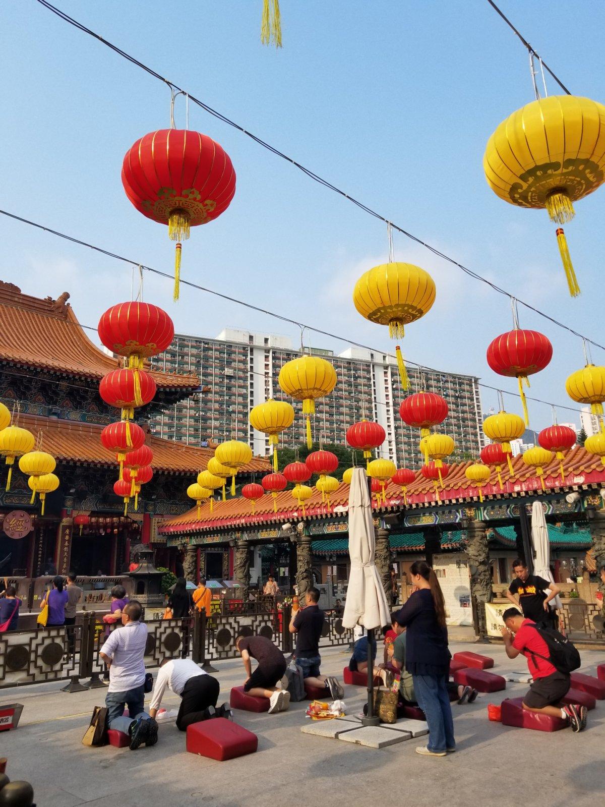 Религиозные и умиротворенные места Гонконга