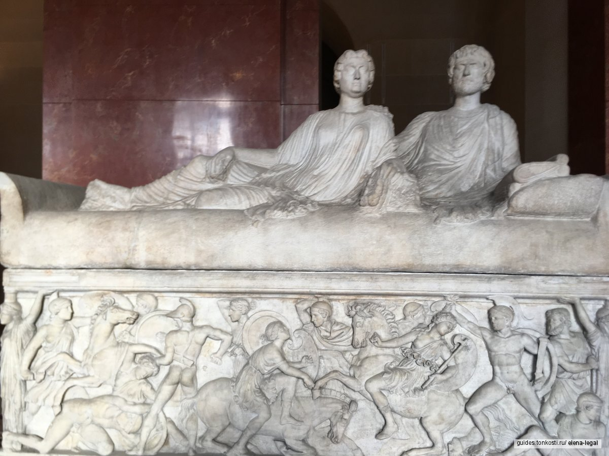 «Лувр — Античность» — от архаики до Рима