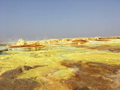 Тур на вулкан Эртале, Далол и в пустыню Данакил