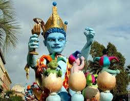 Карнавал в Ницце (февраль)