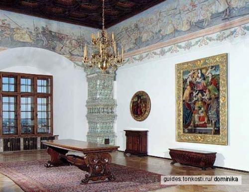 Вавель — королевский дворец, с посещением королевских палат