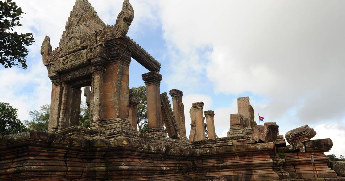 Прогулка к храму Преа Вихеа