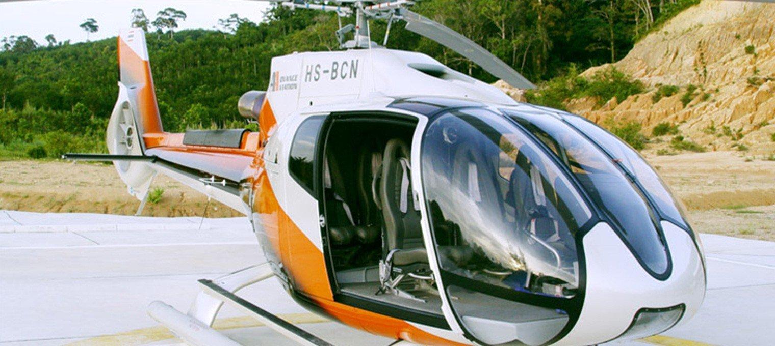 Полет на вертолете на Пхукете. Сезон 2019-2020