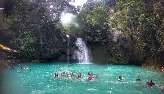 Каньонинг у водопада Кавасан