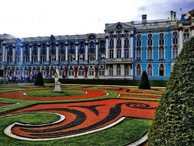 Царское Село. Екатерининский Дворец и Парк