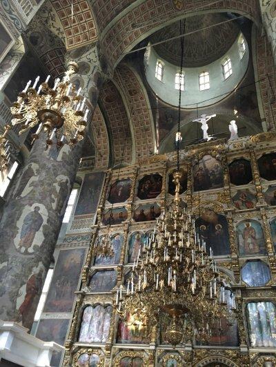 Донской монастырь и некрополь Донского монастыря