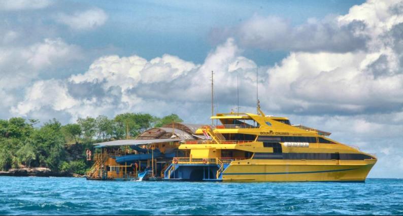 Баунти-круиз на остров Лембонган