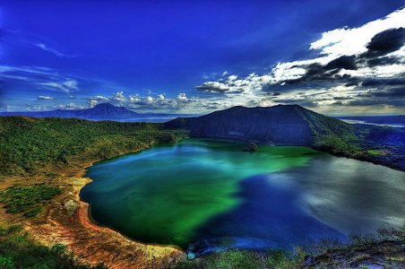 Вулкан Тааль из Себу