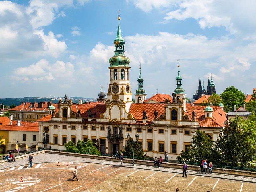 Старый город и Пражский Град
