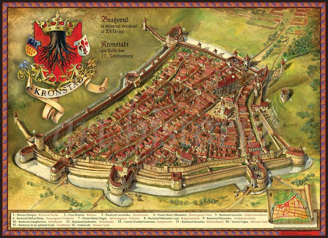 Брашов — сердце Румынии