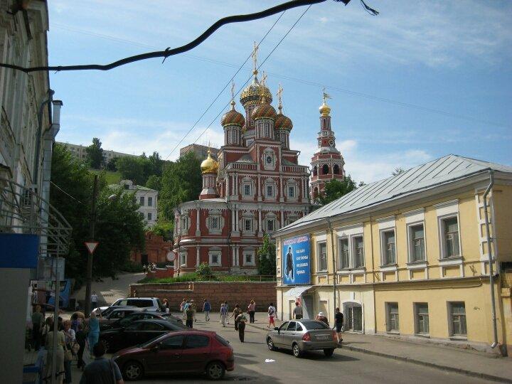 От сердца города к лучшей по красоте из всех улиц Нижнего — от кремля по Рождественской