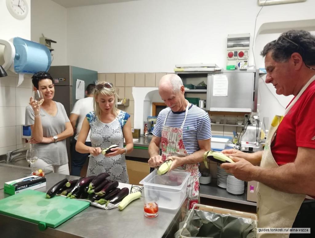 Мастер-класс итальянской кухни в Праяно
