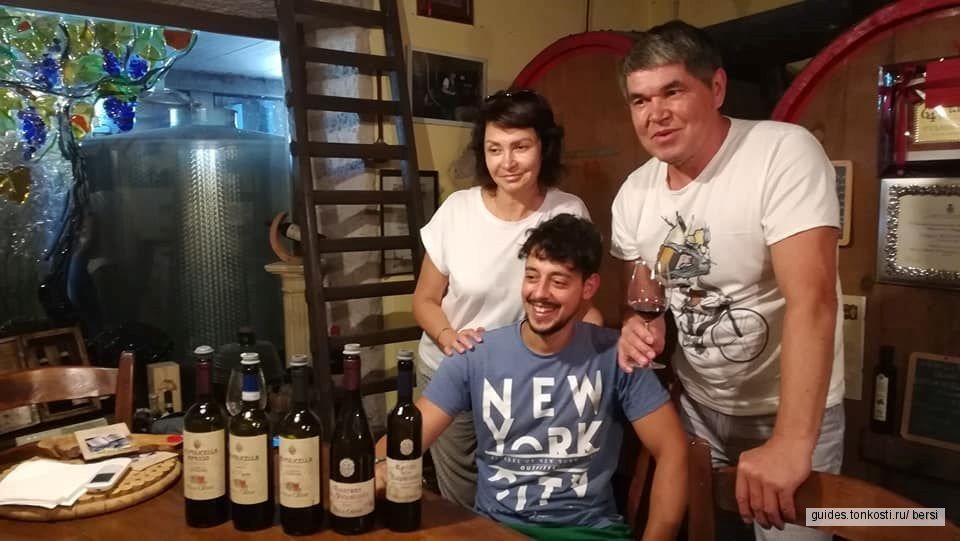 Аутентичная винодельня: секреты Амароне