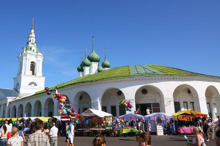 Центр Костромы — пешком в прошлое