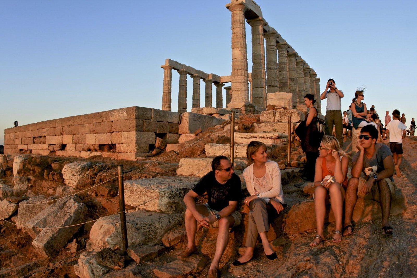 На мыс Сунион к храму Посейдона