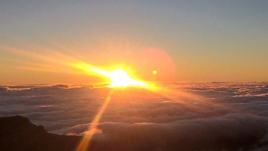 Восход солнца на пике Ариэйру — Руйво