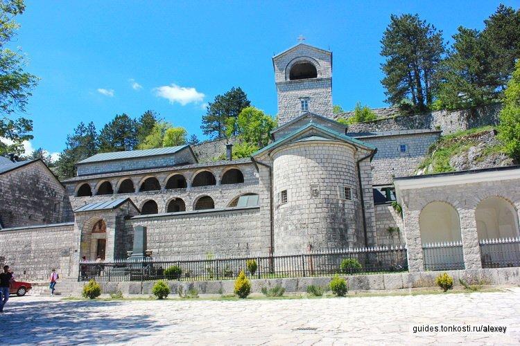 Монастыри Острог и Цетинье