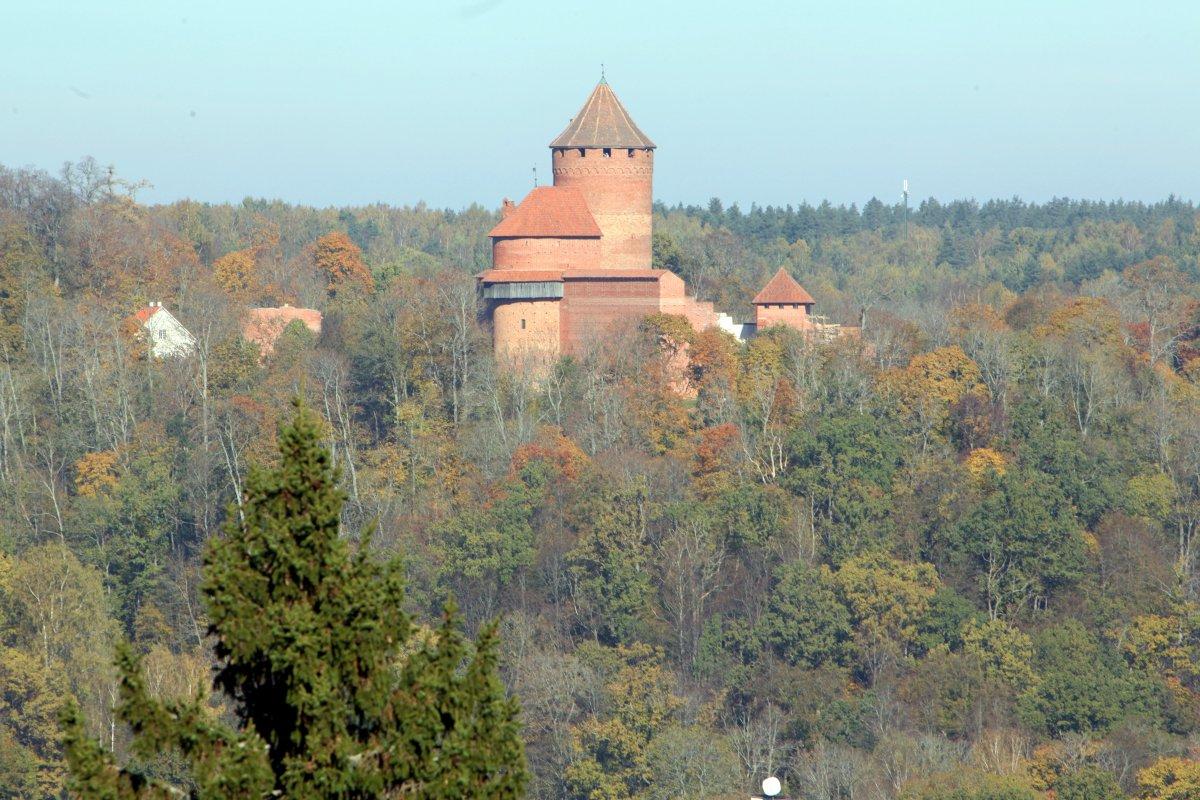 Средневековые легенды Латвии: Турайда, Сигулда и Цесис
