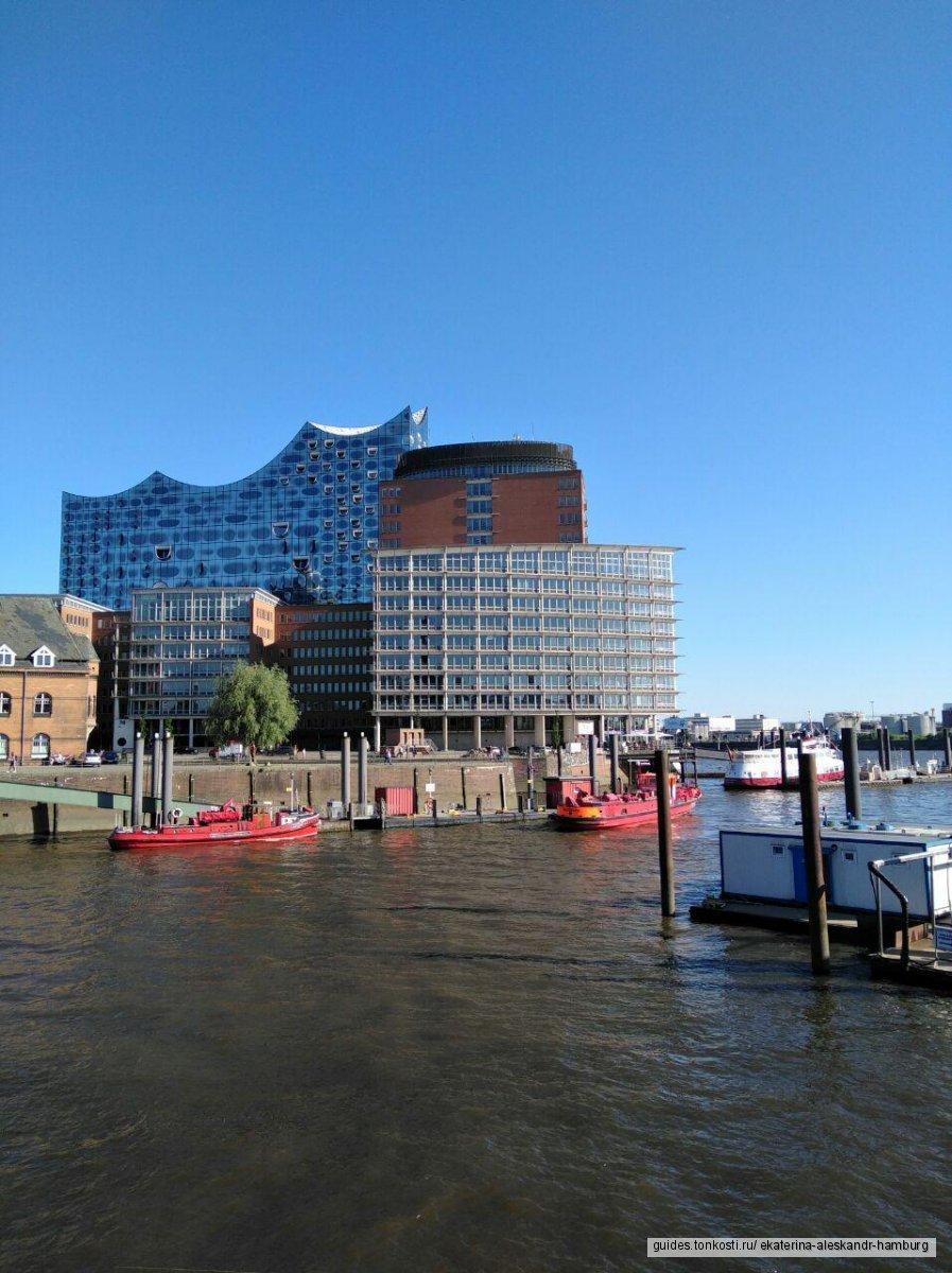 Такой разный Гамбург: от кирх до Reeperbahn'а — индивидуальная обзорная экскурсия