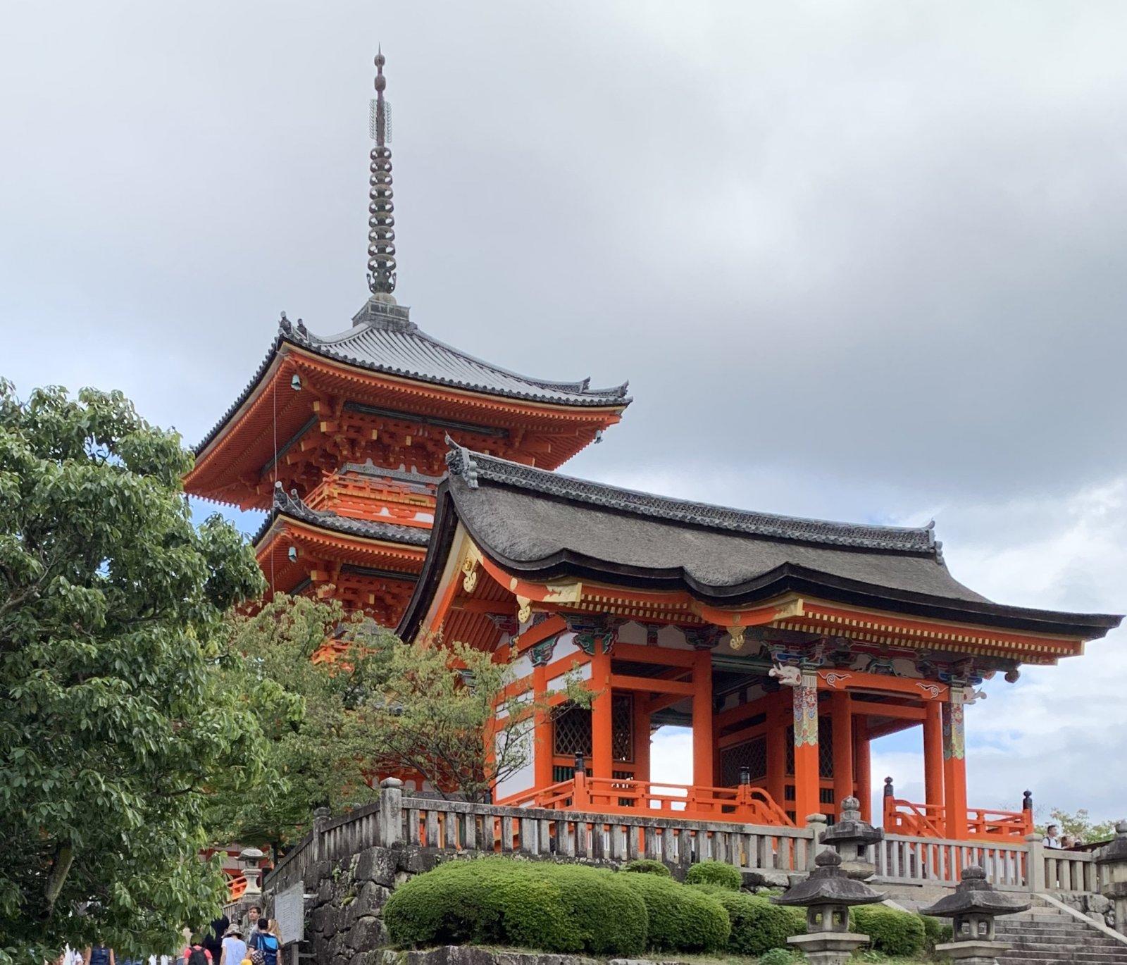 Киото — историческая столица государства