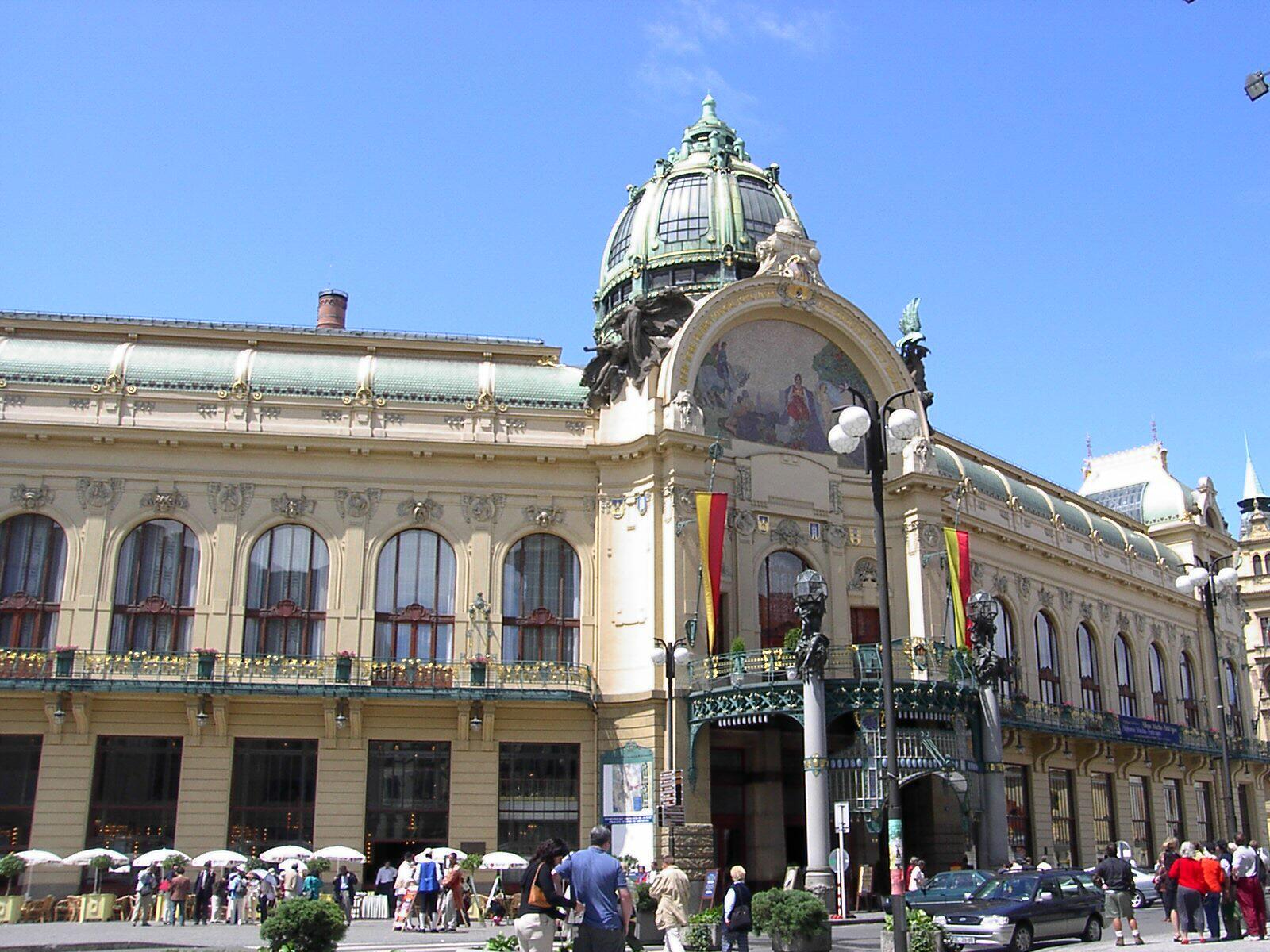 Авто-пешеходная обзорная экскурсия по Праге