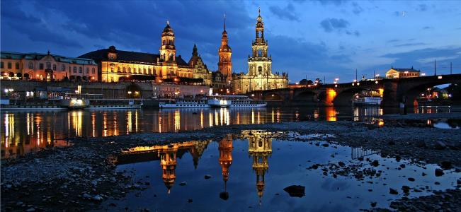 Дрезден — сказочный город на Эльбе