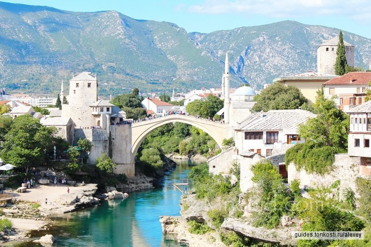 Босния и Герцеговина. Монастырь Твдош, Мостар и водопады Кравице