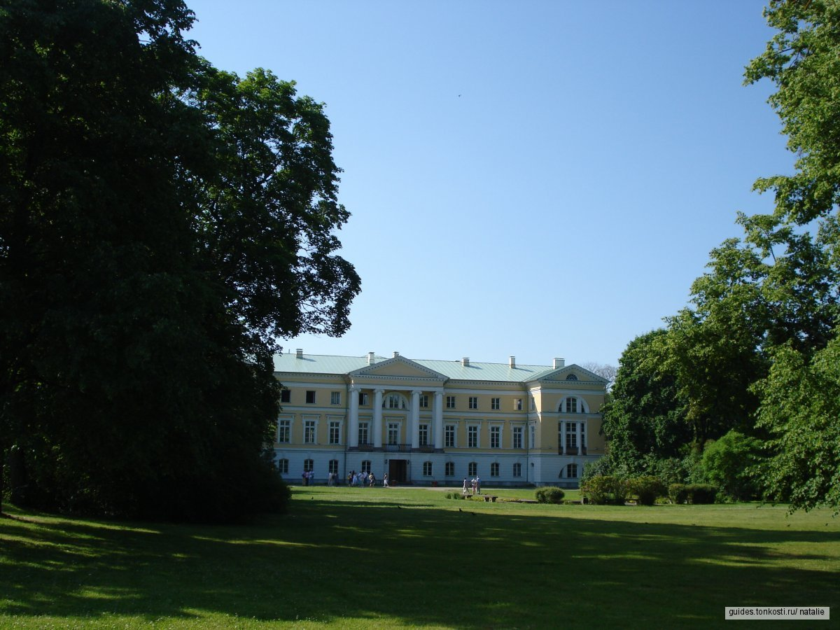 Рундальский дворец. Латвийский шедевр барокко