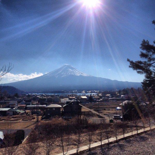 4 ракурса горы Фудзи