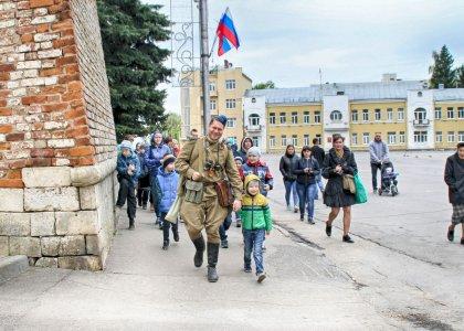 Фронтовыми дорогами Смоленска