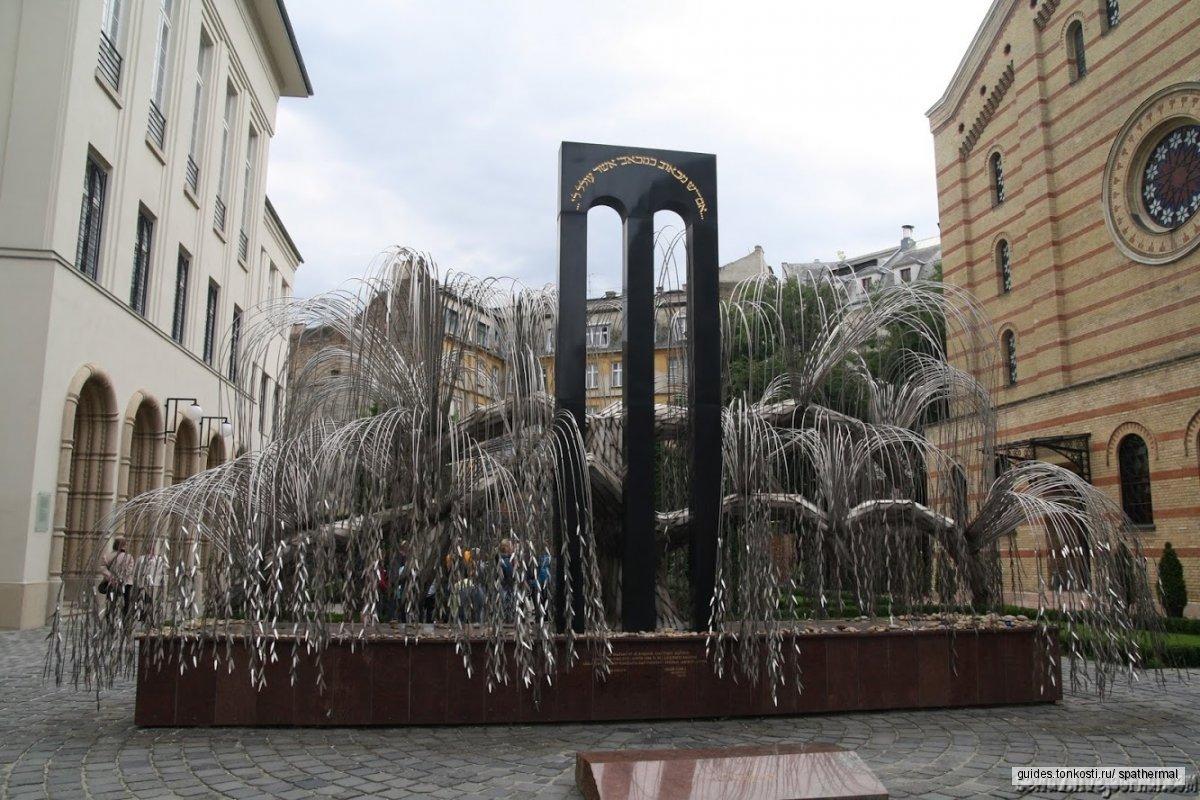 «Над городом» — еврейский Будапешт
