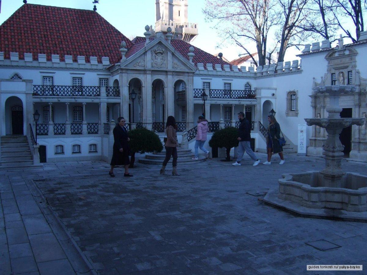 Коимбрa. Сад с экзотической флорой, дворец, как сказочная декорация, город мудрости и просвещения